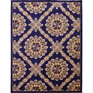 Marmont Navy Blue Area Rug