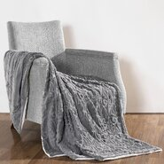 Pamila Faux Fur Sherpa Throw