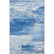 Adirondack Silver/Blue Area Rug