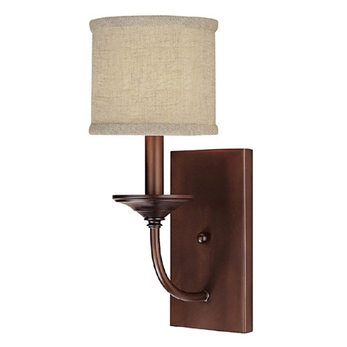 Wall Sconces At Wayfair : Three Posts Thorpe 1 Light Wall Sconce & Reviews Wayfair