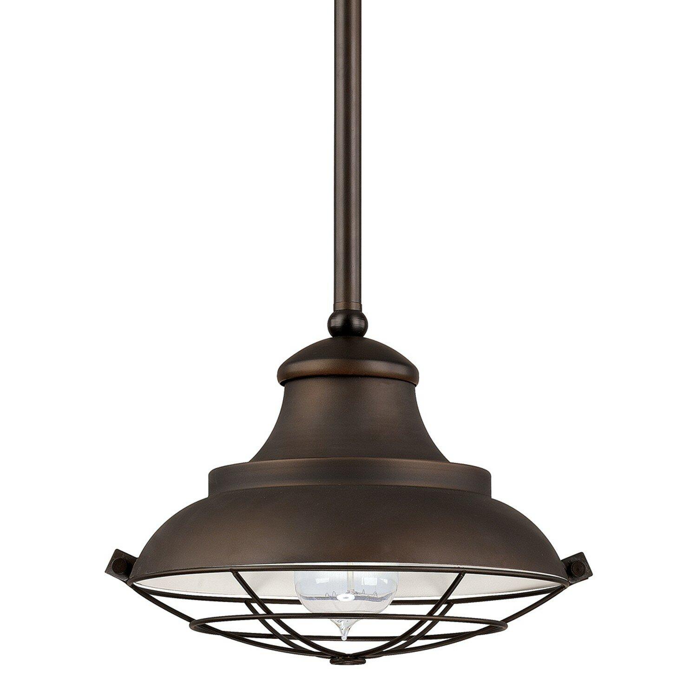 Capital Lighting 1 Light Mini Pendant Amp Reviews Wayfair