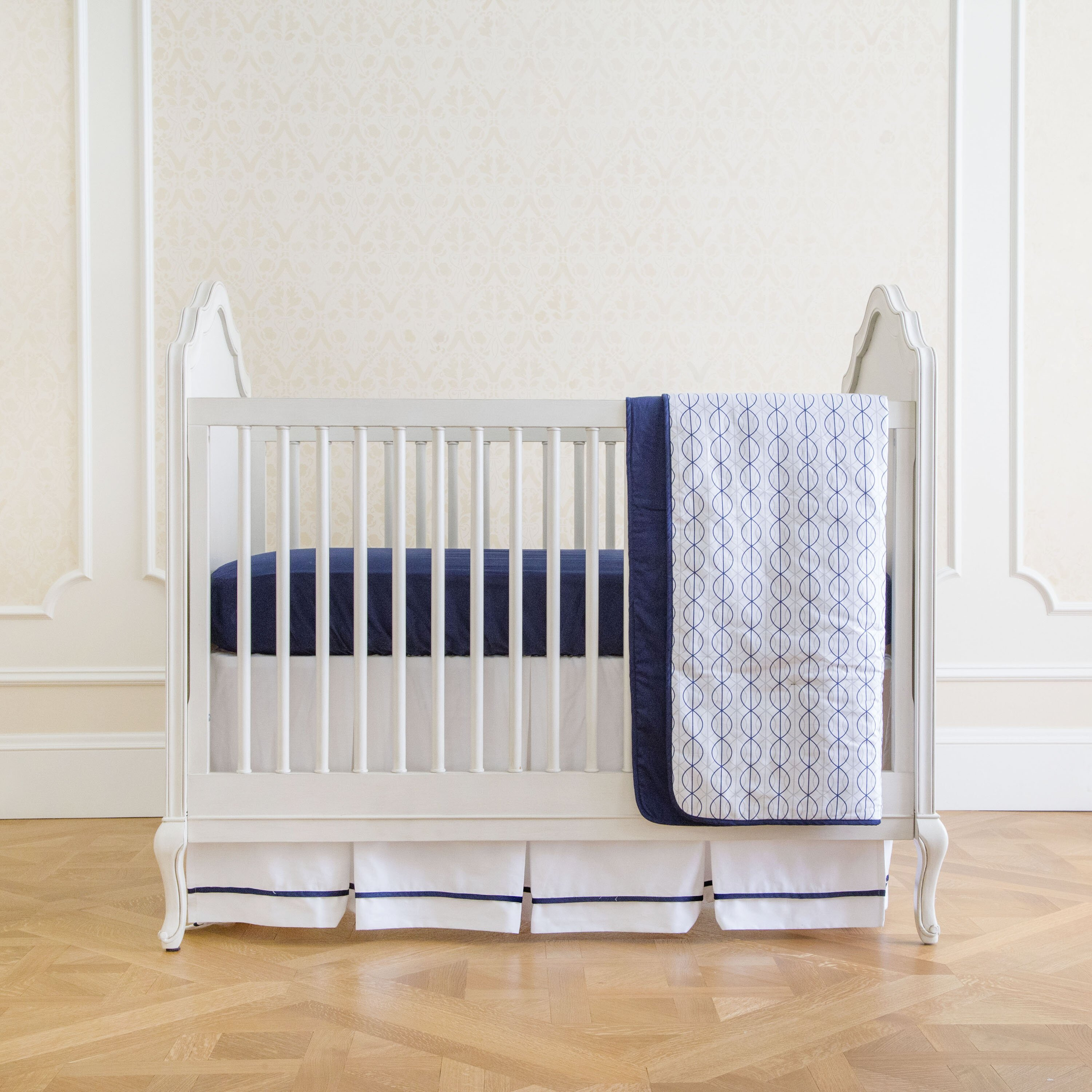Nautical Infant Bedding: Summer Infant Nautical Navy Classic 4 Piece Crib Bedding