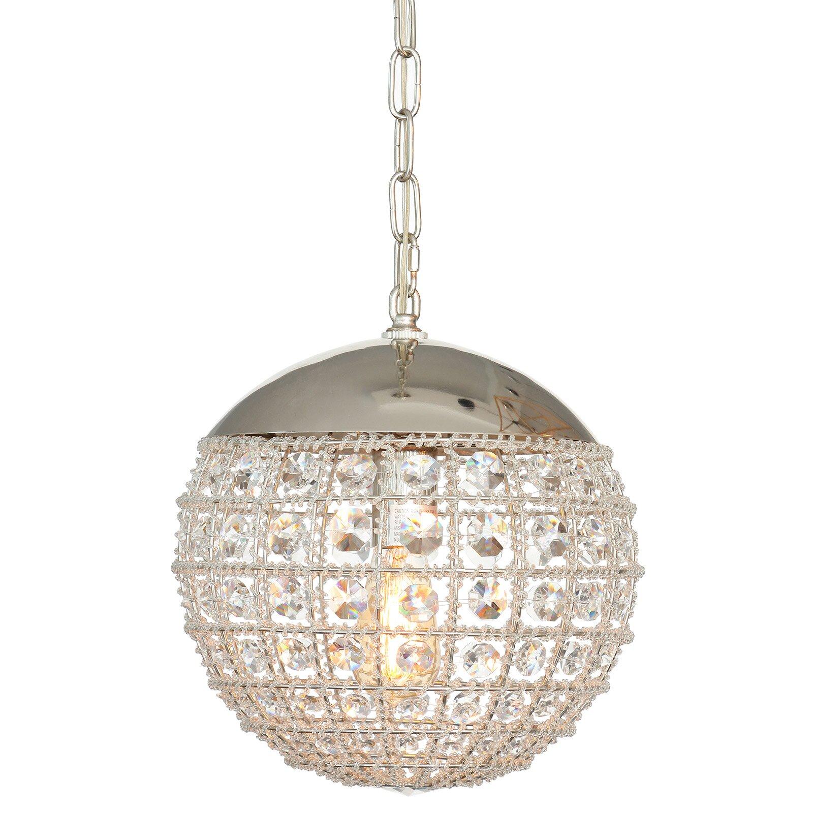 PoliVaz 1 Light Globe Pendant