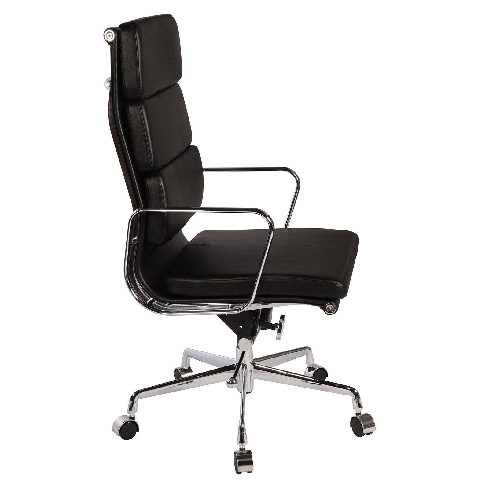 polivaz replica eames leather executive chair wayfair
