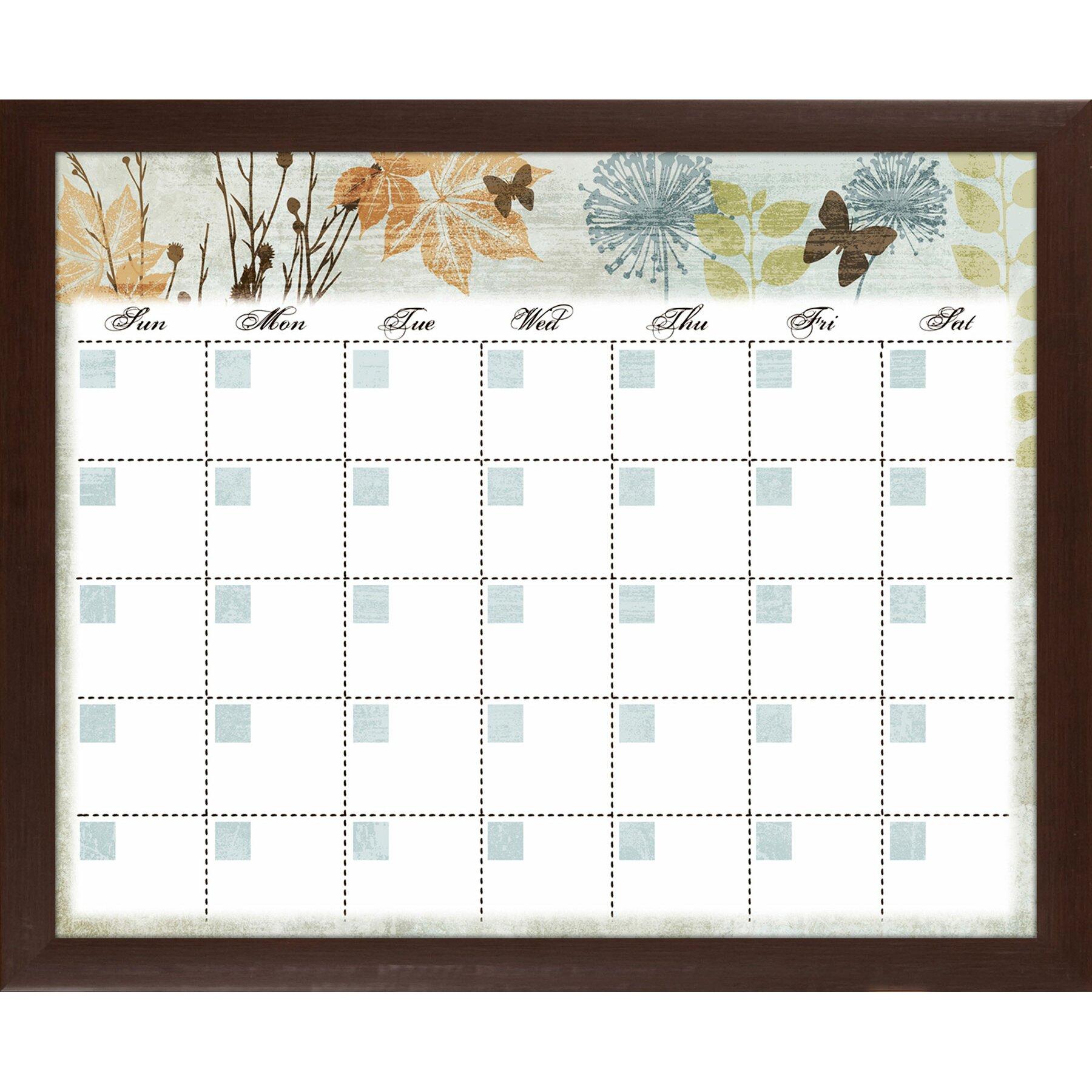 Calendar Planner Board : Ptm images banbury memo calendar planner glass dry erase