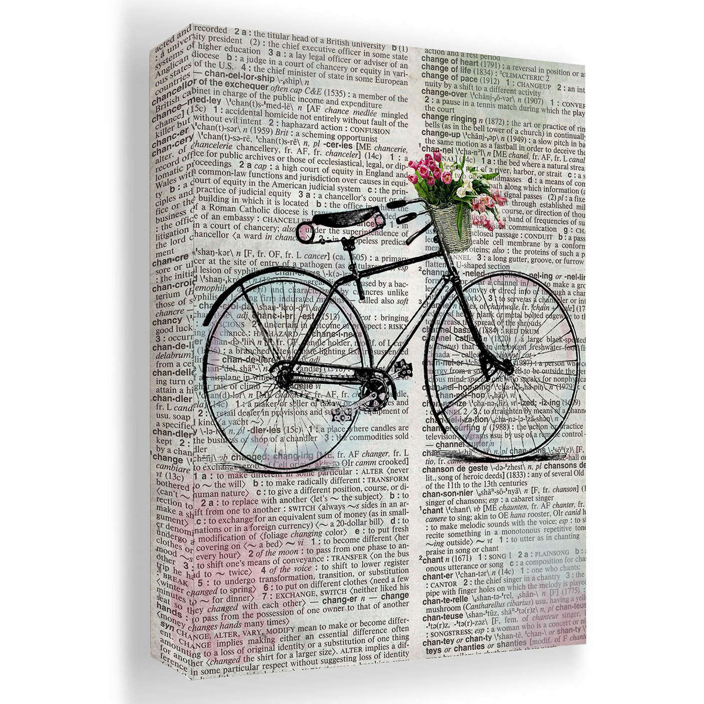 PTM Images Bike and Birdcage 2 Piece Graphic Art on ...
