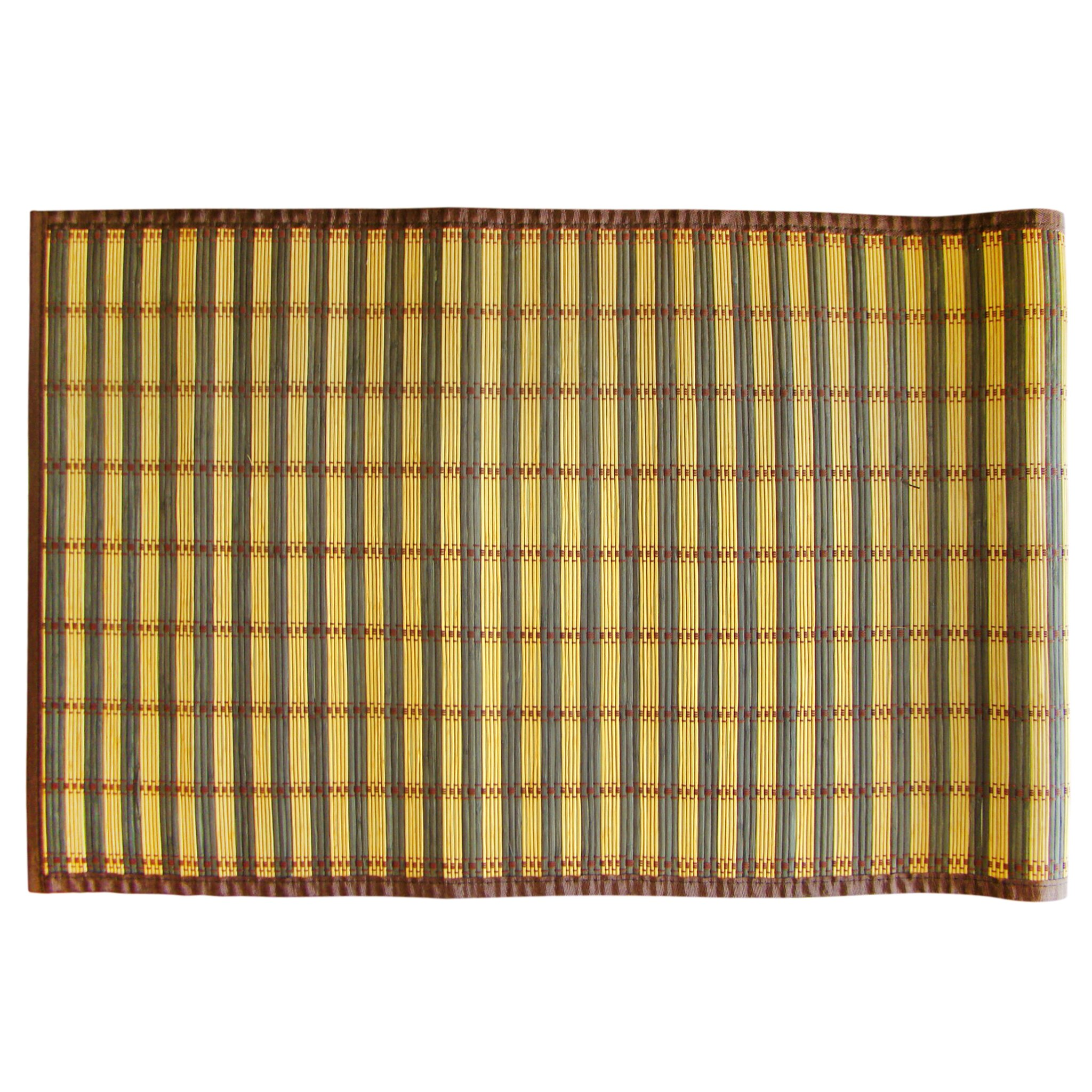 Bamboo Rug Runner: Textiles Plus Inc. Bamboo Rayon Floor Runner Outdoor Area
