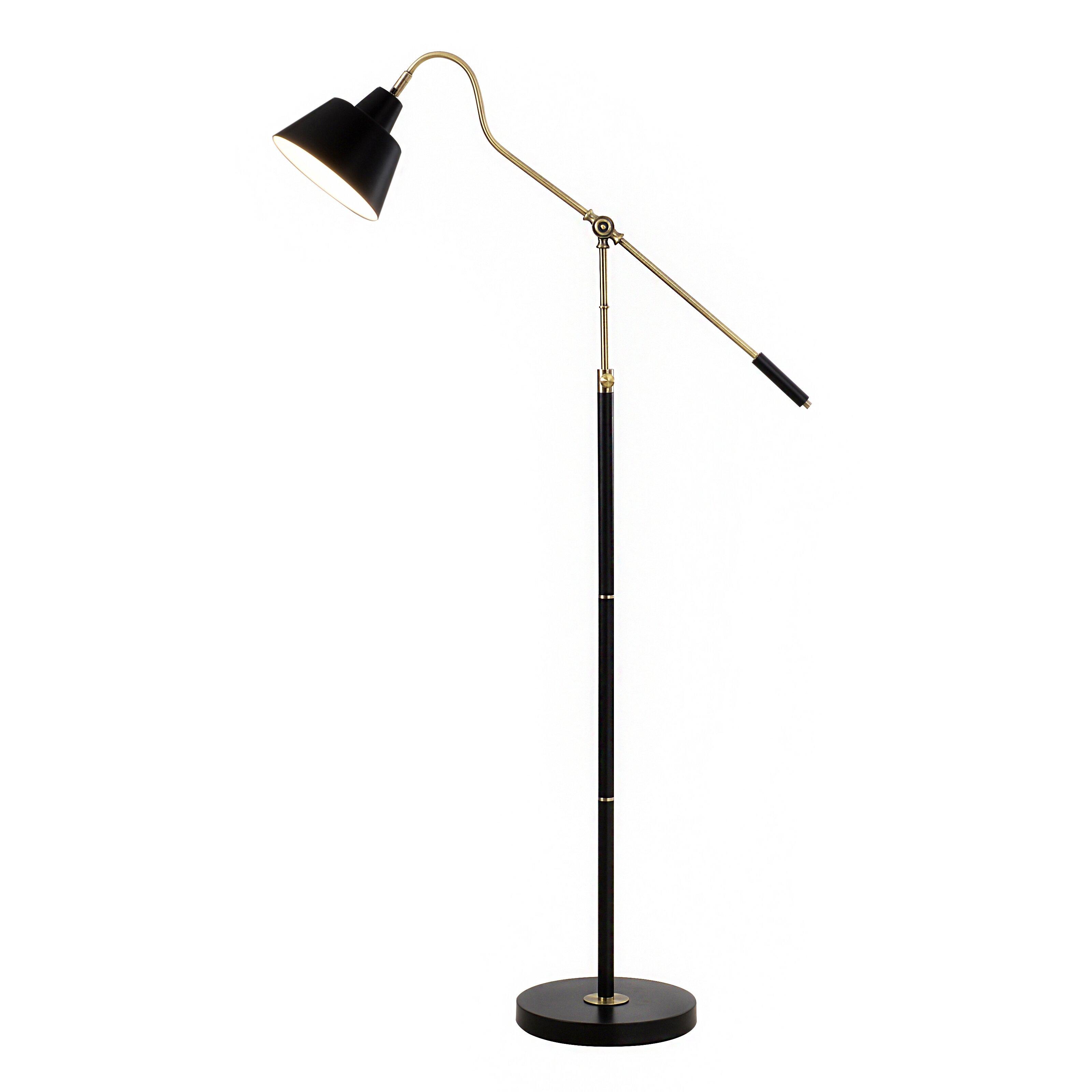 Catalina lighting task floor lamp reviews wayfair for Task lighting floor lamp