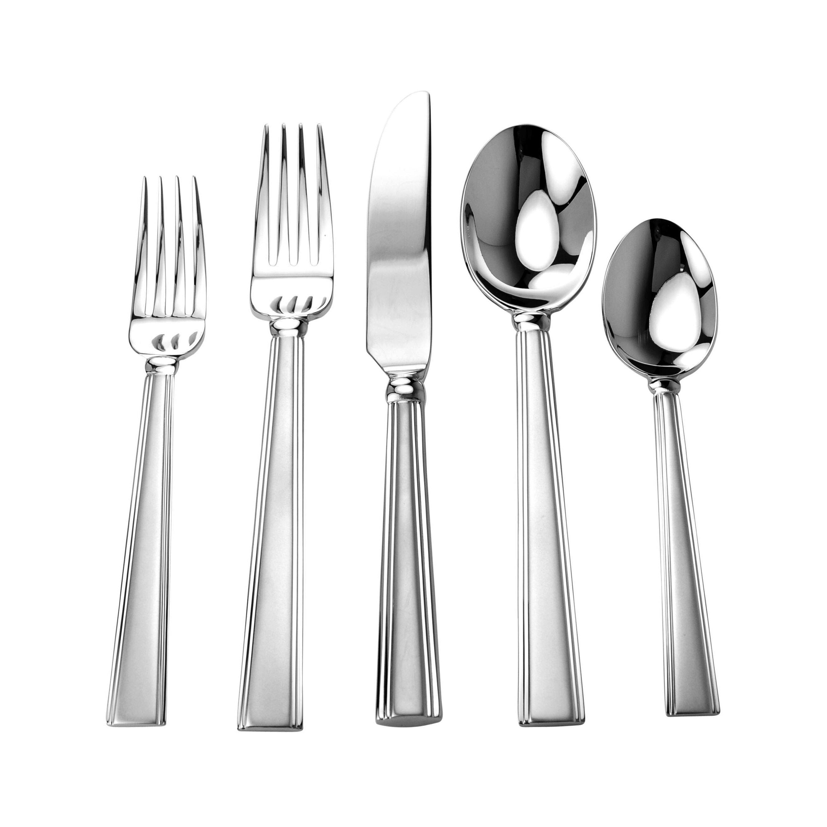 David shaw silverware splendide artik 20 piece flatware set reviews wayfair - Splendide flatware ...