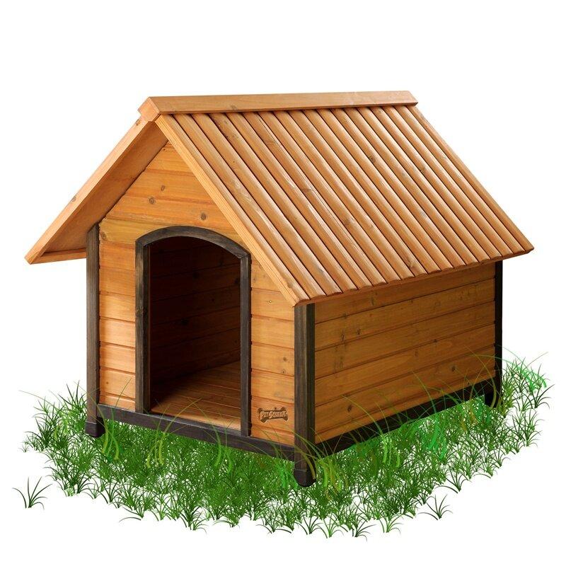 pet squeak arf frame dog house reviews wayfair With pet squeak arf frame dog house