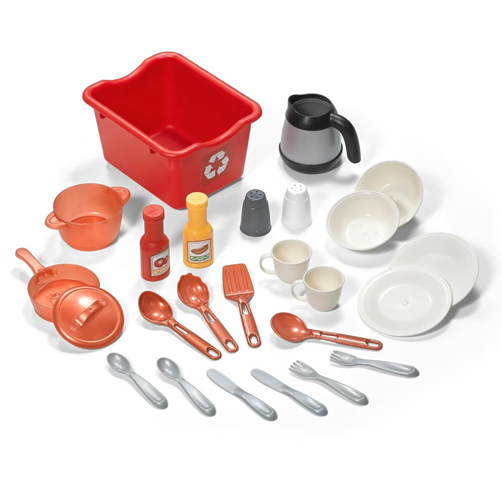 Step2 best chef 39 s kitchen set reviews wayfair for Best kitchen set
