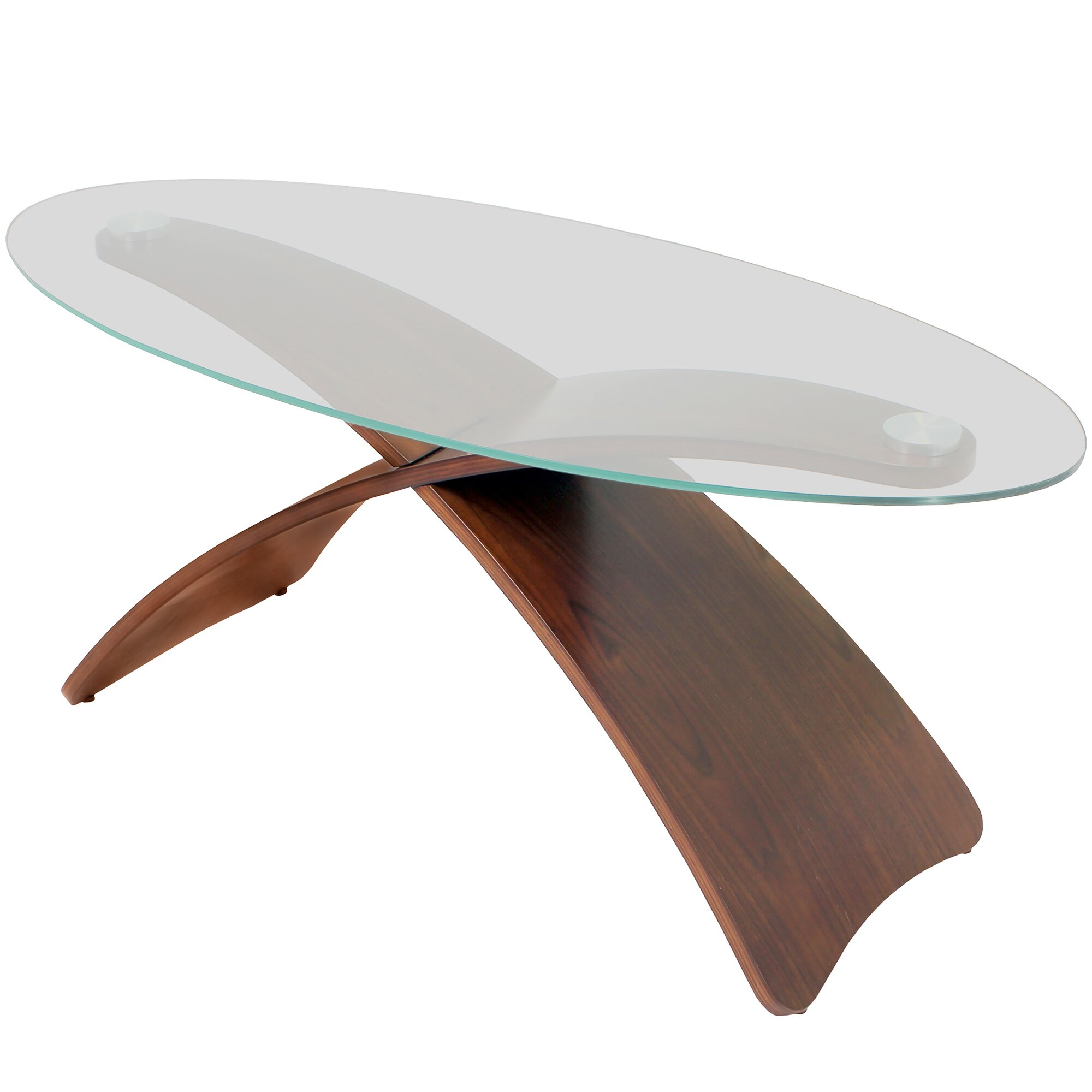 Lumisource Criss Cross Coffee Table Reviews Wayfair