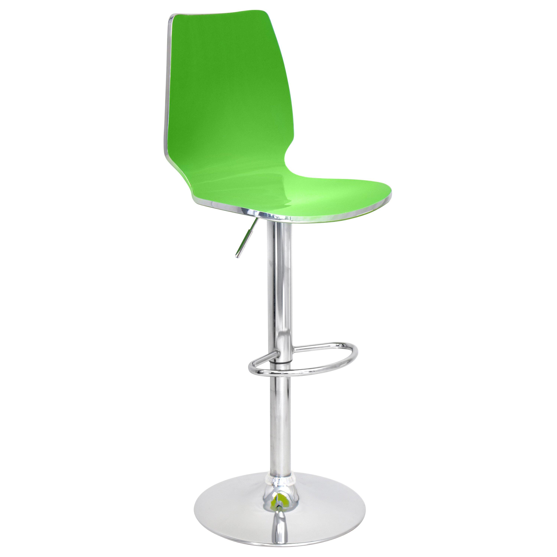Lumisource Danata Adjustable Height Swivel Bar Stool