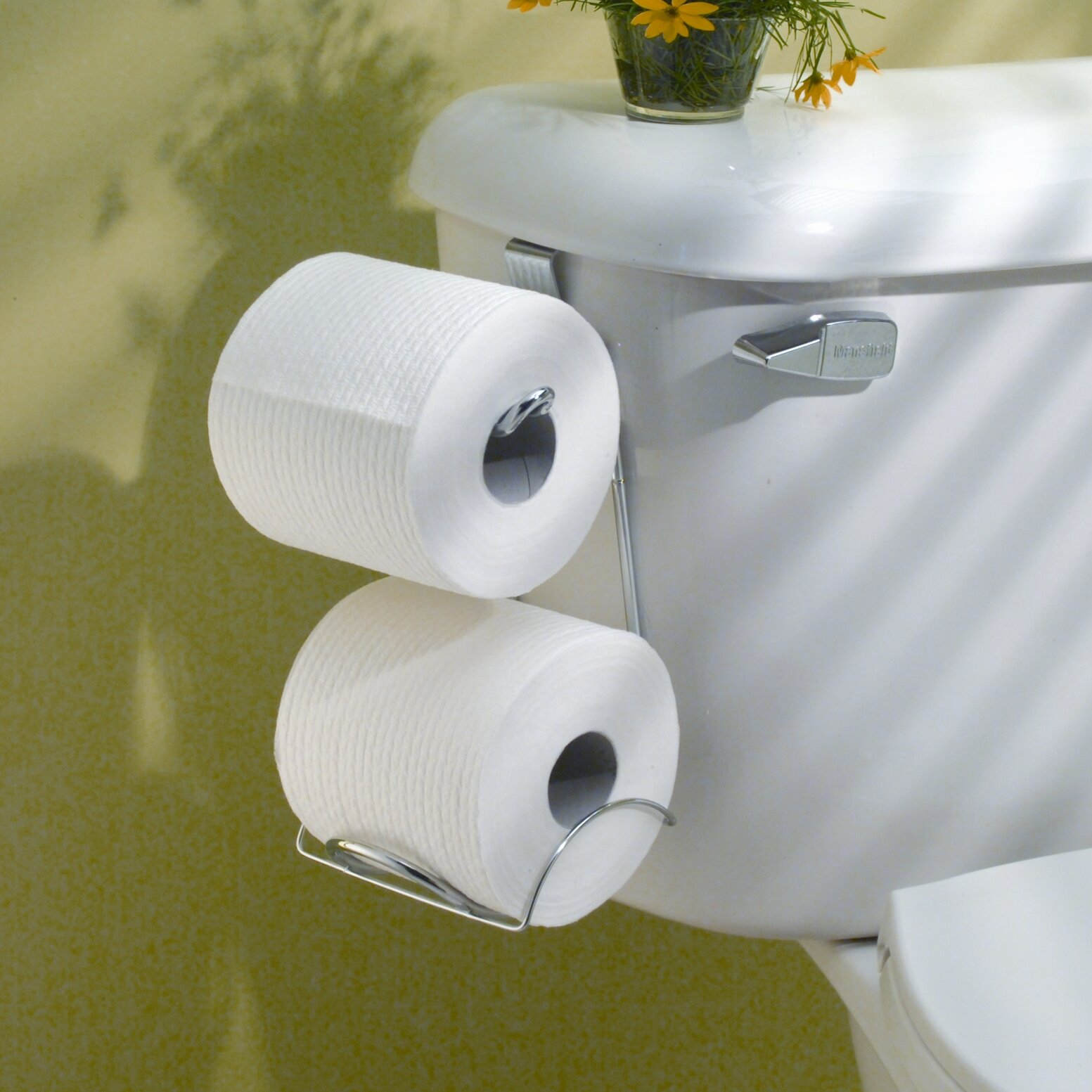 Interdesign classico over the toilet toiletpaper holder Kids toilet paper holder