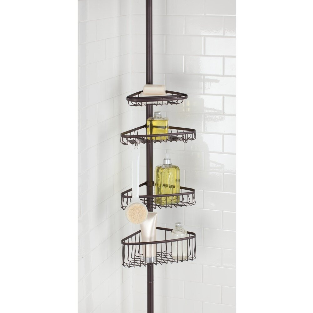 Interdesign york shower caddy reviews wayfair for Inter designs