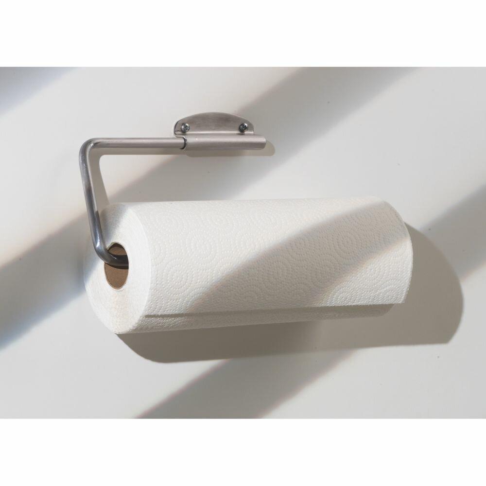 InterDesign Swivel Wall Mounted Toilet Paper Holder Wayfair