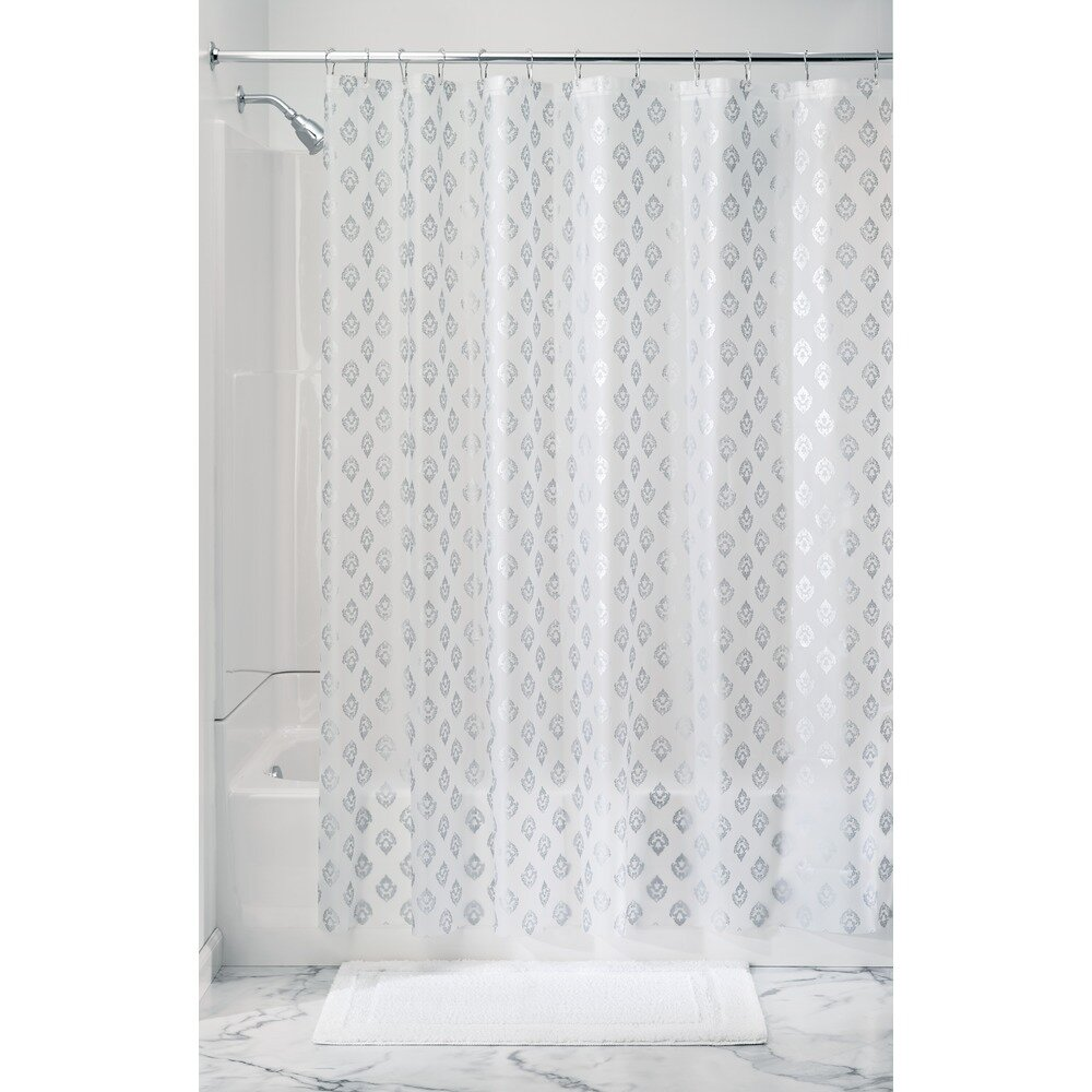 Interdesign florence shower curtain liner wayfair for Inter designs