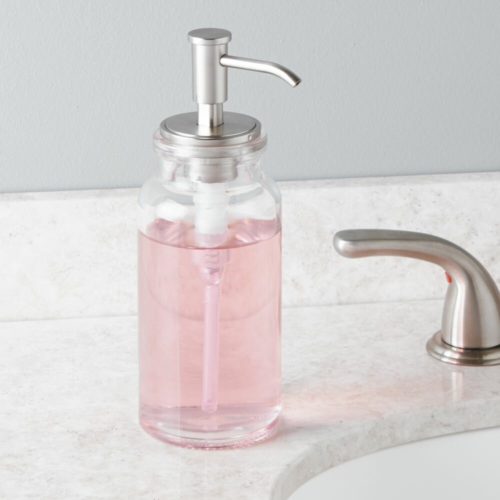 Interdesign westport pump soap dispenser wayfair for Inter designs