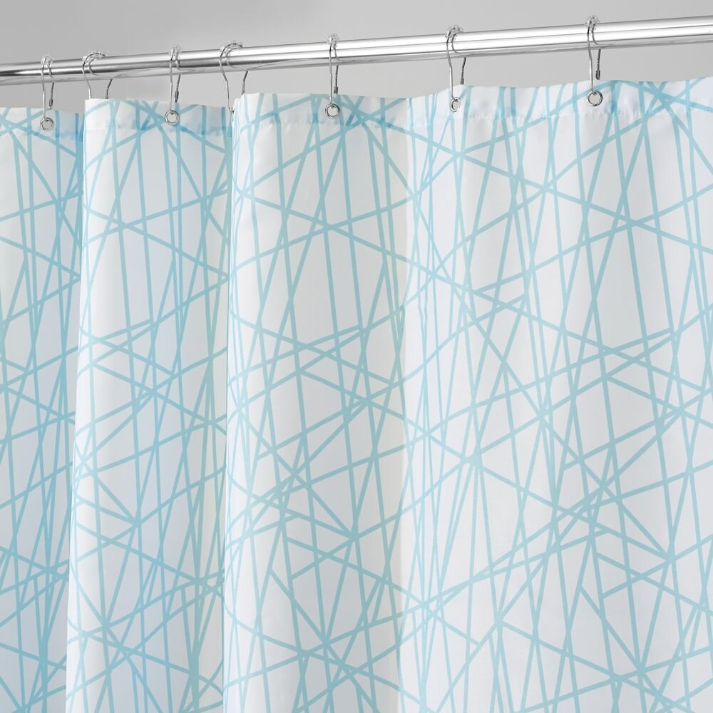 interdesign abstract shower curtain wayfair