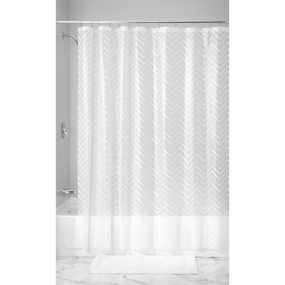 Interdesign Chevron Sketched Shower Curtain Liner Wayfair