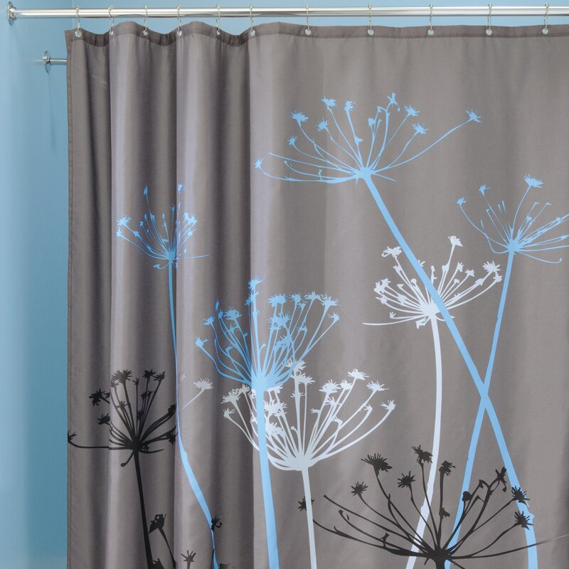 wayfair curtains on sale interdesign thistle shower curtain wayfair ca 7022