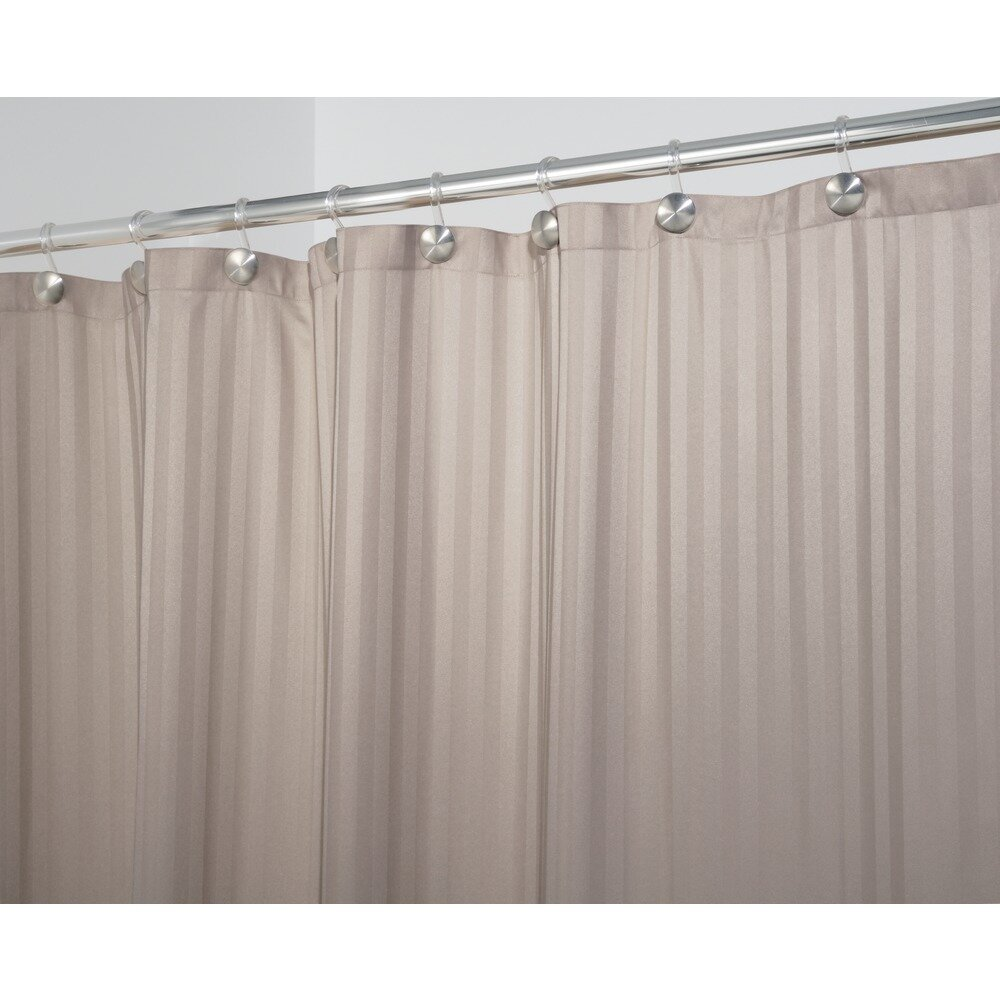 Interdesign Satin Stripe Shower Curtain Wayfair