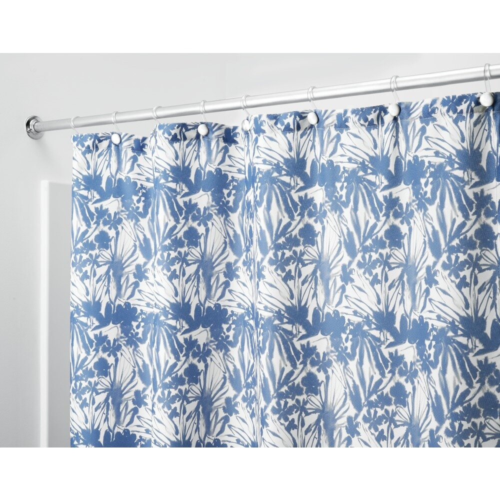 Interdesign Floral Batik Shower Curtain Wayfair