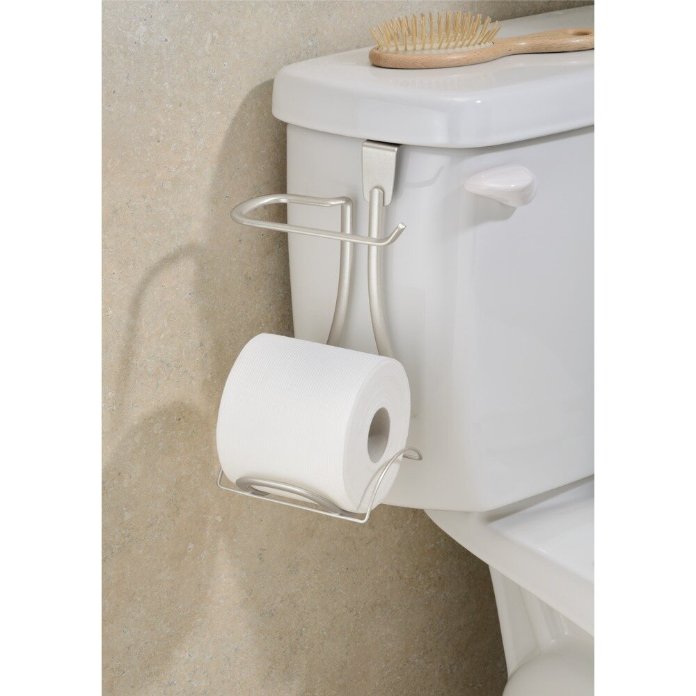 Interdesign axis free standing toilet paper holder wayfair Toilet paper holder free standing