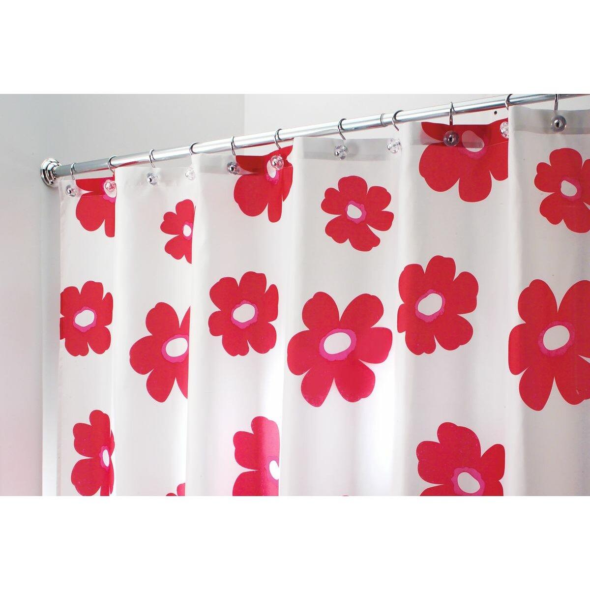 Interdesign Poppy Shower Curtain Reviews Wayfair