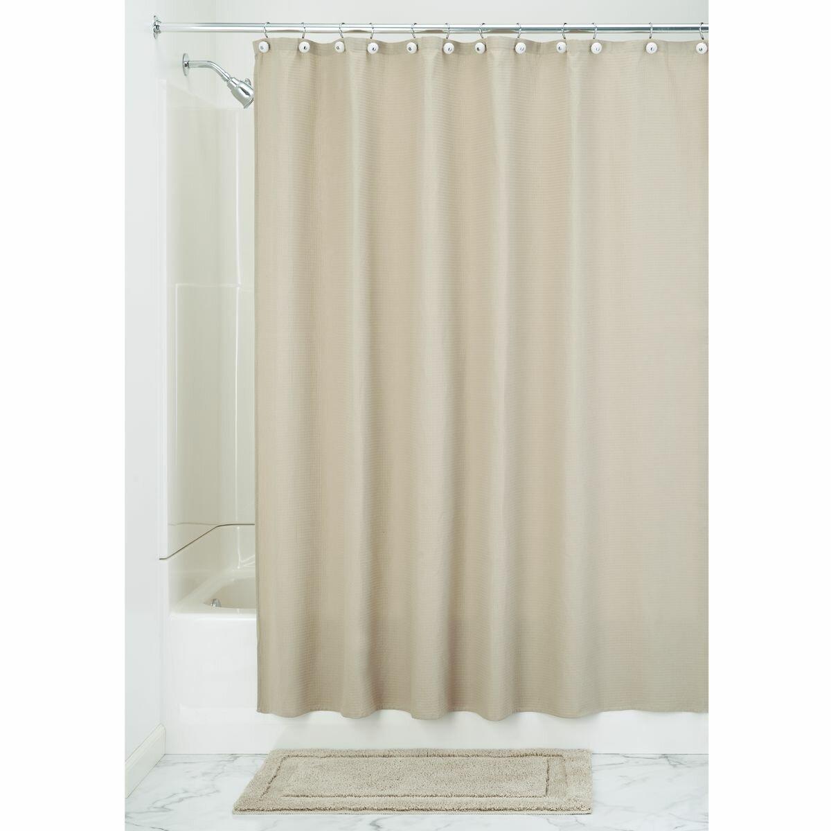 Interdesign york shower curtain reviews wayfair for Interdesign york