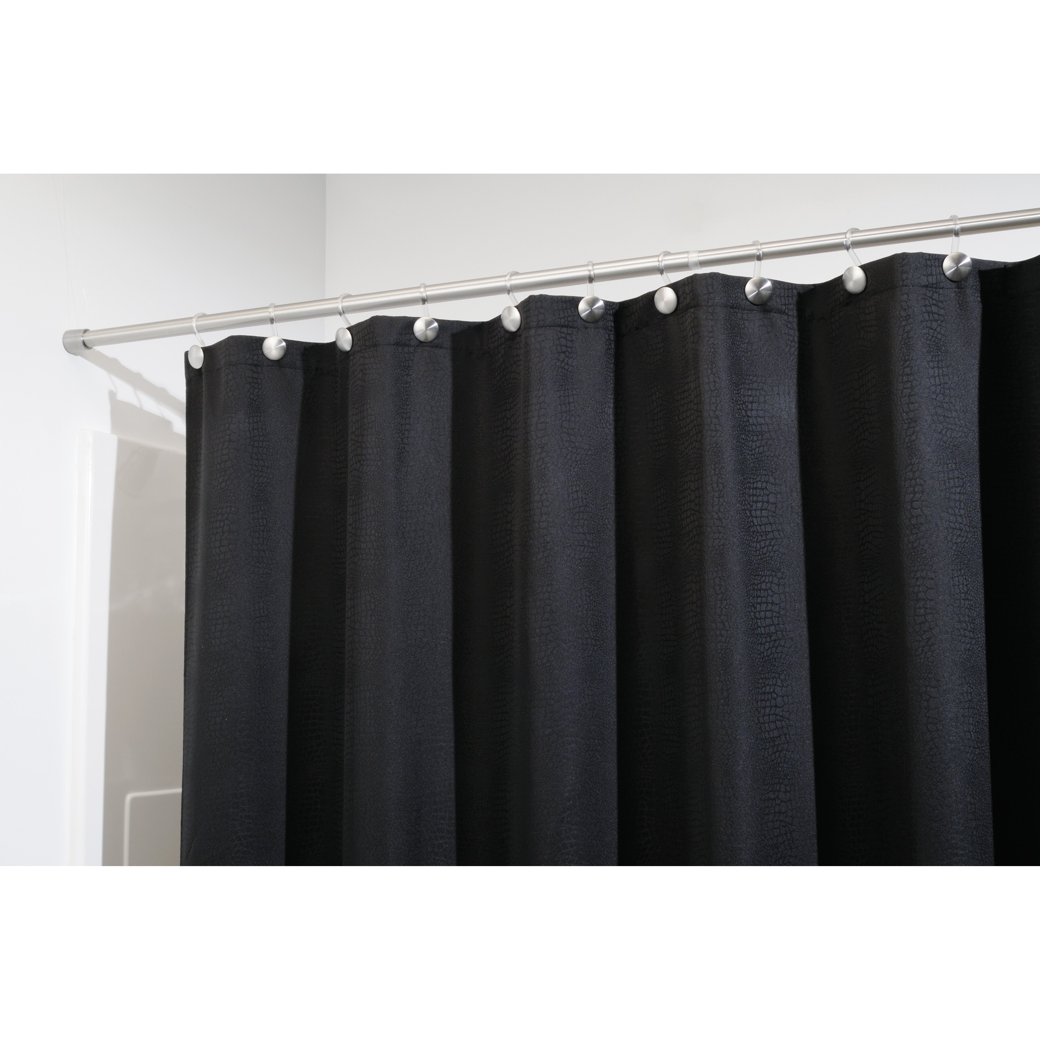 Interdesign forma small shower curtain tension rod for Inter designs