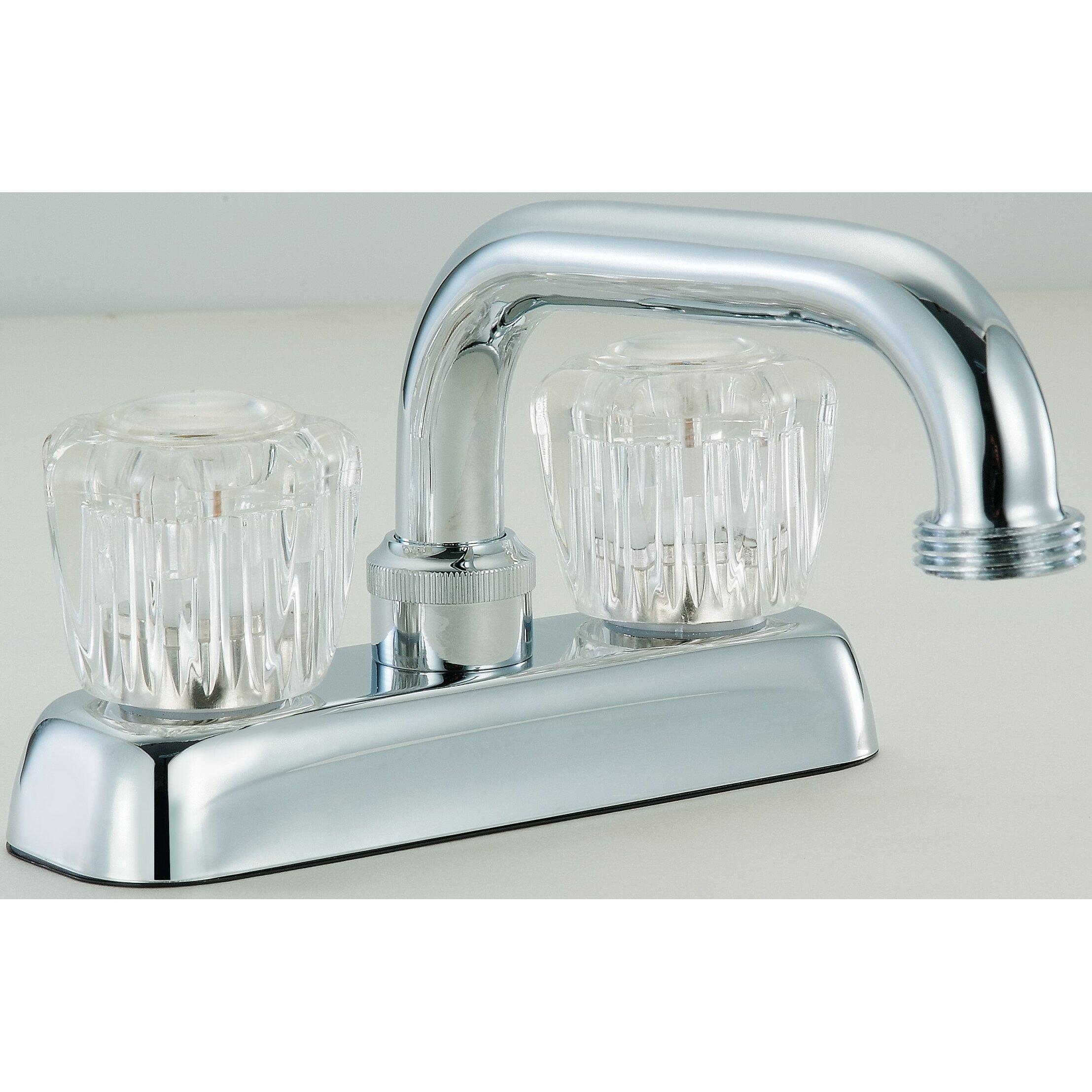 Hardware House Double Handle Centerset Bathroom Faucet Wayfair