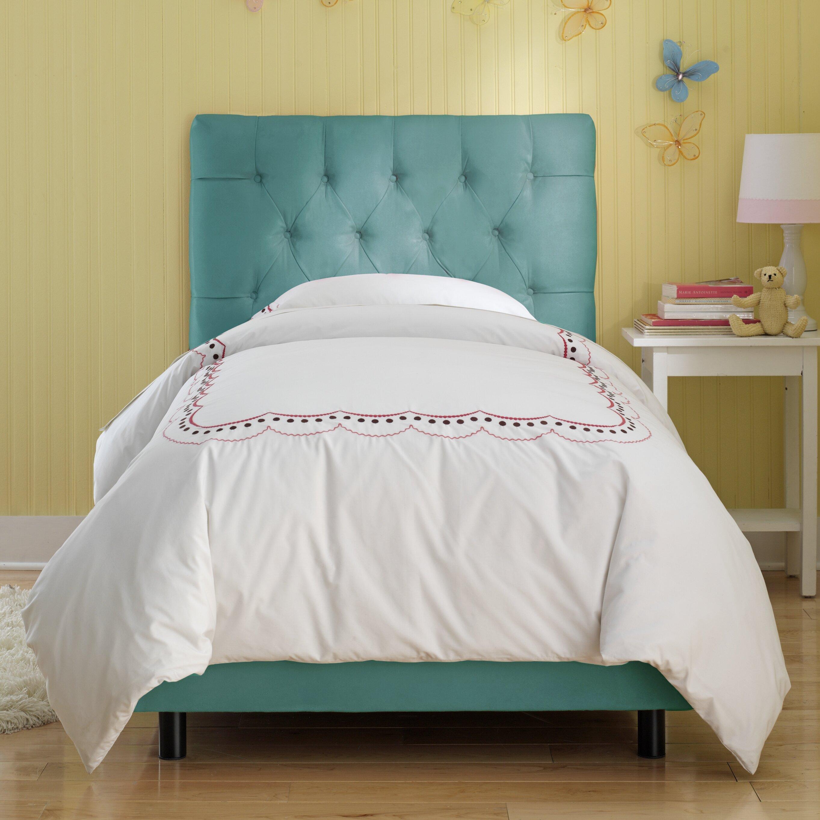 Tufted Bedroom: Skyline Furniture Tufted Panel Bed & Reviews