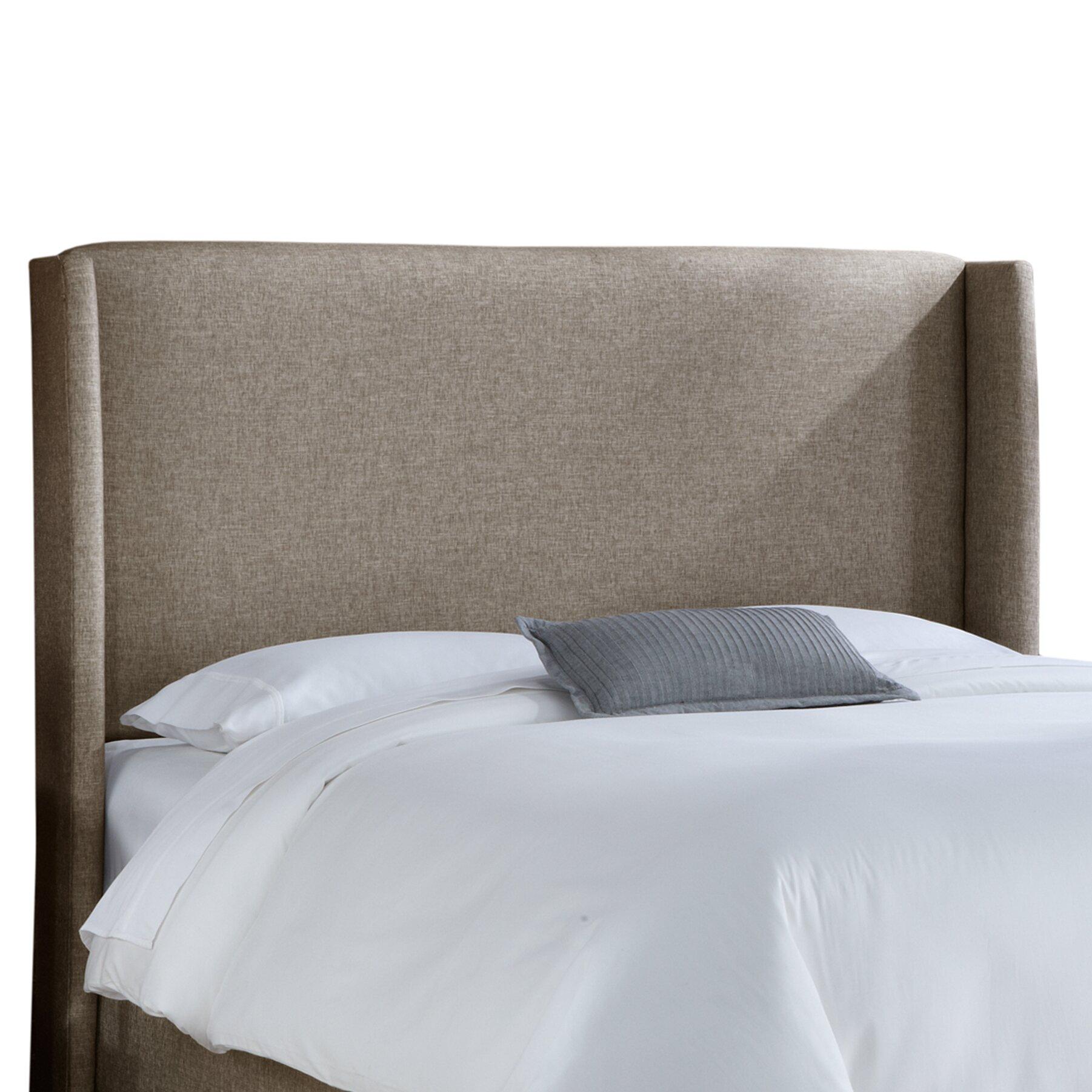 Skyline Furniture Wingback Upholstered Headboard Reviews Wayfair