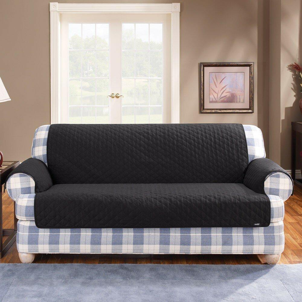 Sure Fit Cotton Duck Sofa Slipcover Amp Reviews Wayfair Ca