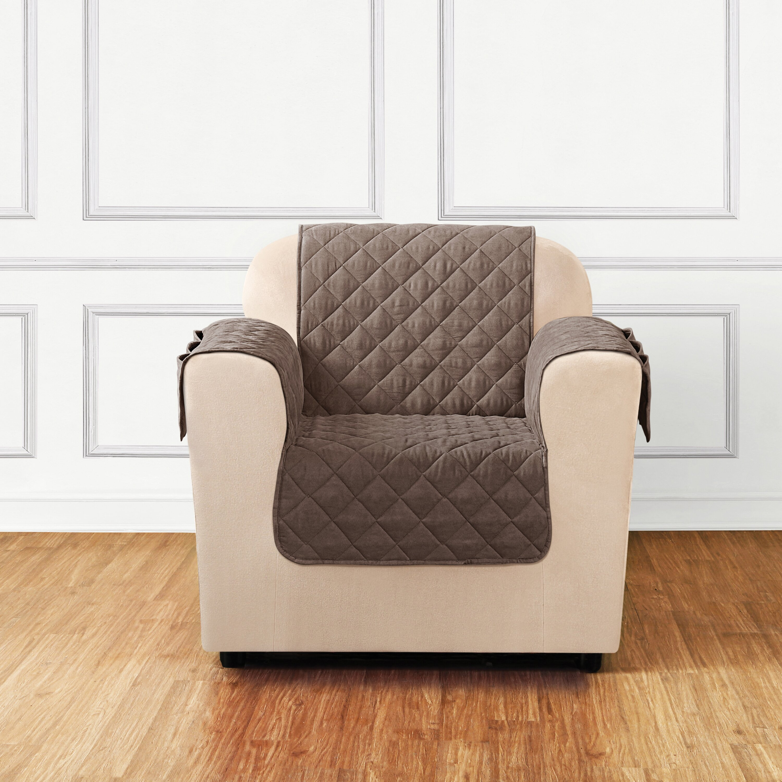 Sure Fit Quilted Pet Chair Slipcover & Reviews