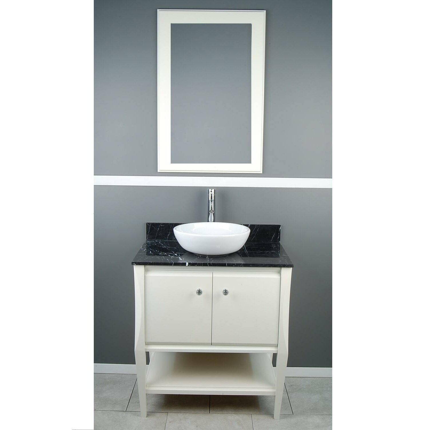 D 39 vontz sahara 31 single vanity set wayfair for Dvontz bathroom vanity