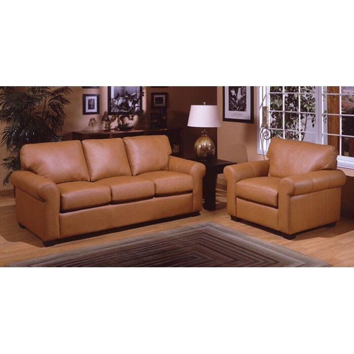 West point leather queen sleeper sofa living room set wayfair ca