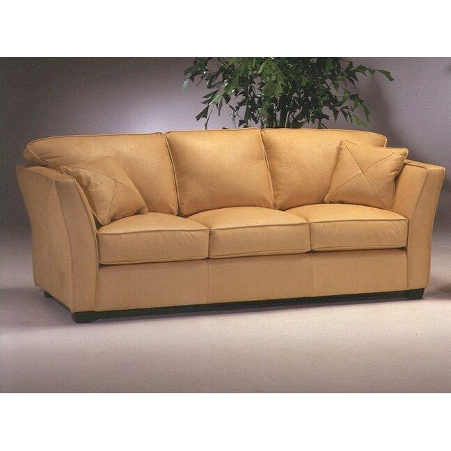 Omnia Leather Manhattan Leather Sofa Reviews Wayfair