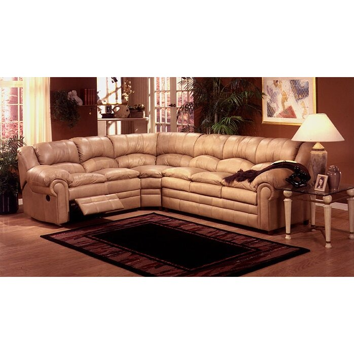 Omnia Leather Furniture Reviews Omnia Leather Riviera Sleeper Sectional