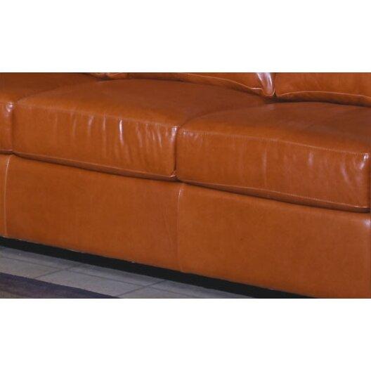 Omnia Leather Chelsea Deco Leather Sofa Reviews Wayfair