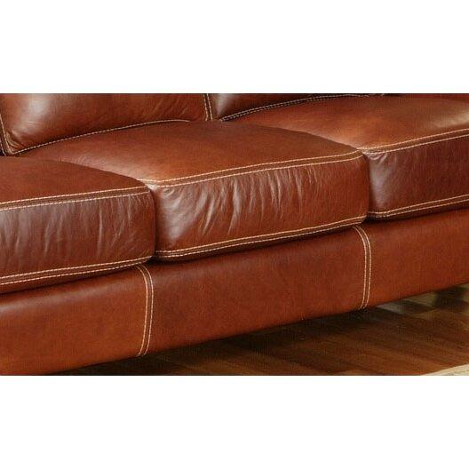 Omnia Leather Great Texas Leather Sofa Reviews Wayfair