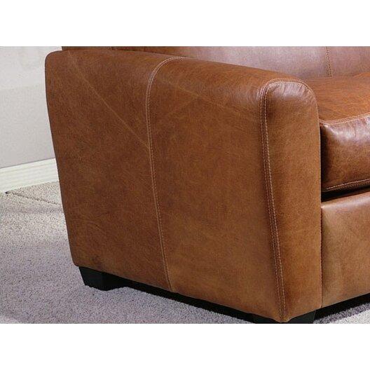 Omnia Leather Jackson Leather Sleeper Sofa & Reviews