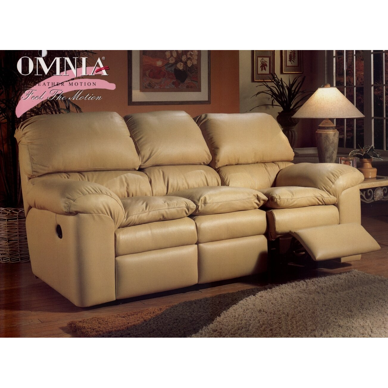 Omnia leather cordova reclining sofa living room set - Living room furniture leather and upholstery ...