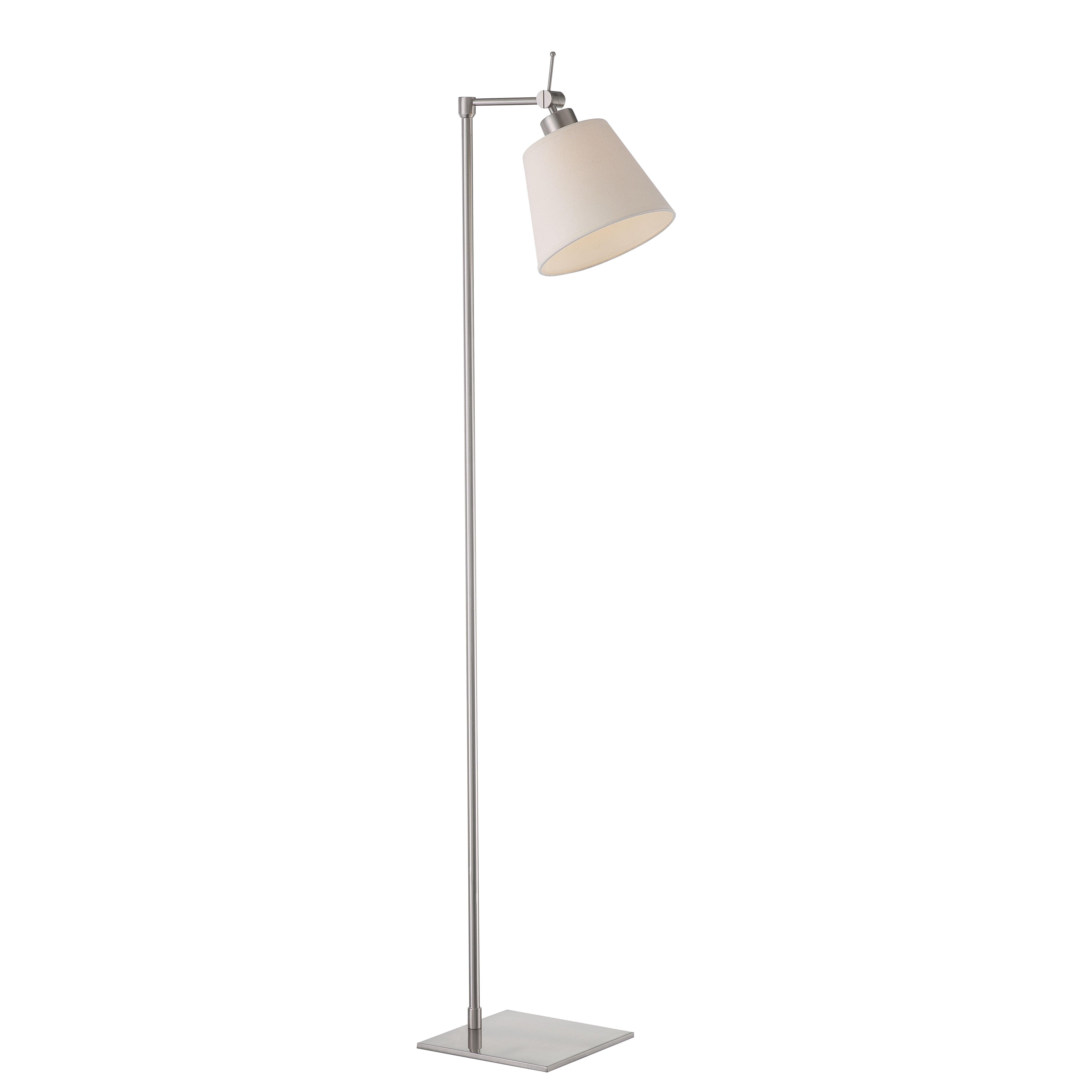 Vlavic fez 125cm reading floor lamp reviews wayfair uk for Reading floor lamp reviews
