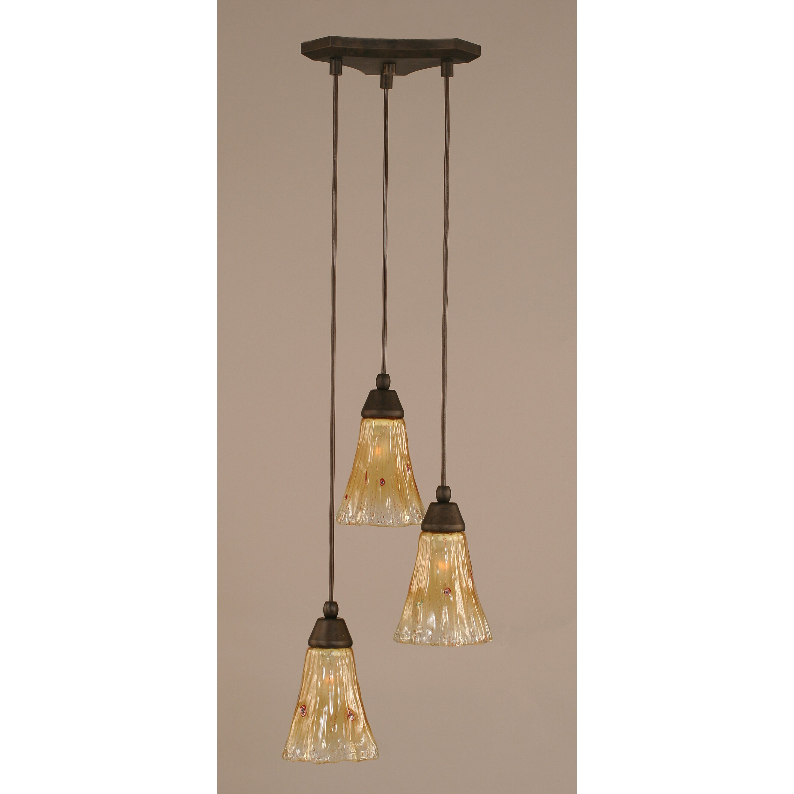 Toltec Lighting Europa 3 Light Mini Pendant Amp Reviews