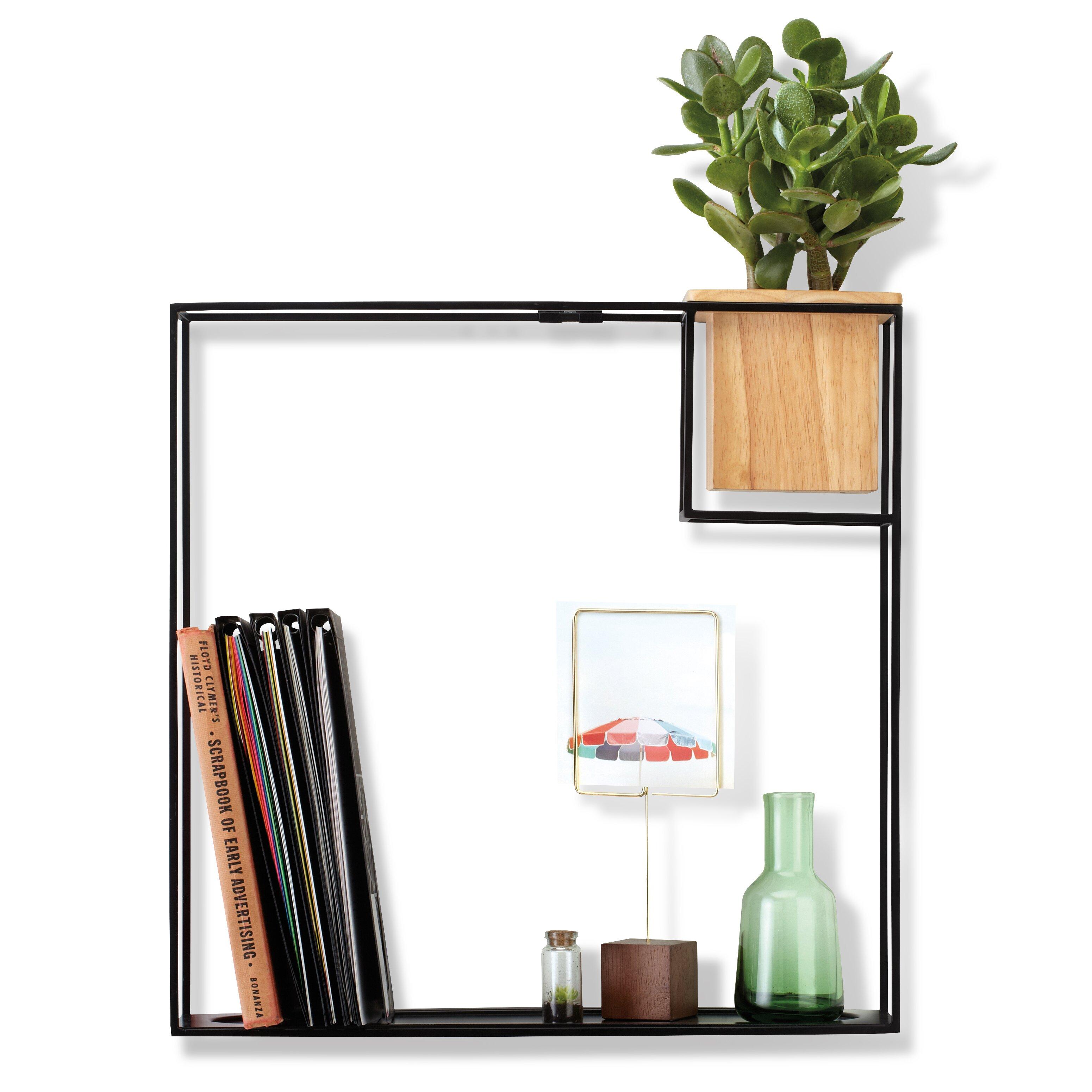 Umbra Cubist Floating Wall Shelf Amp Reviews Wayfair