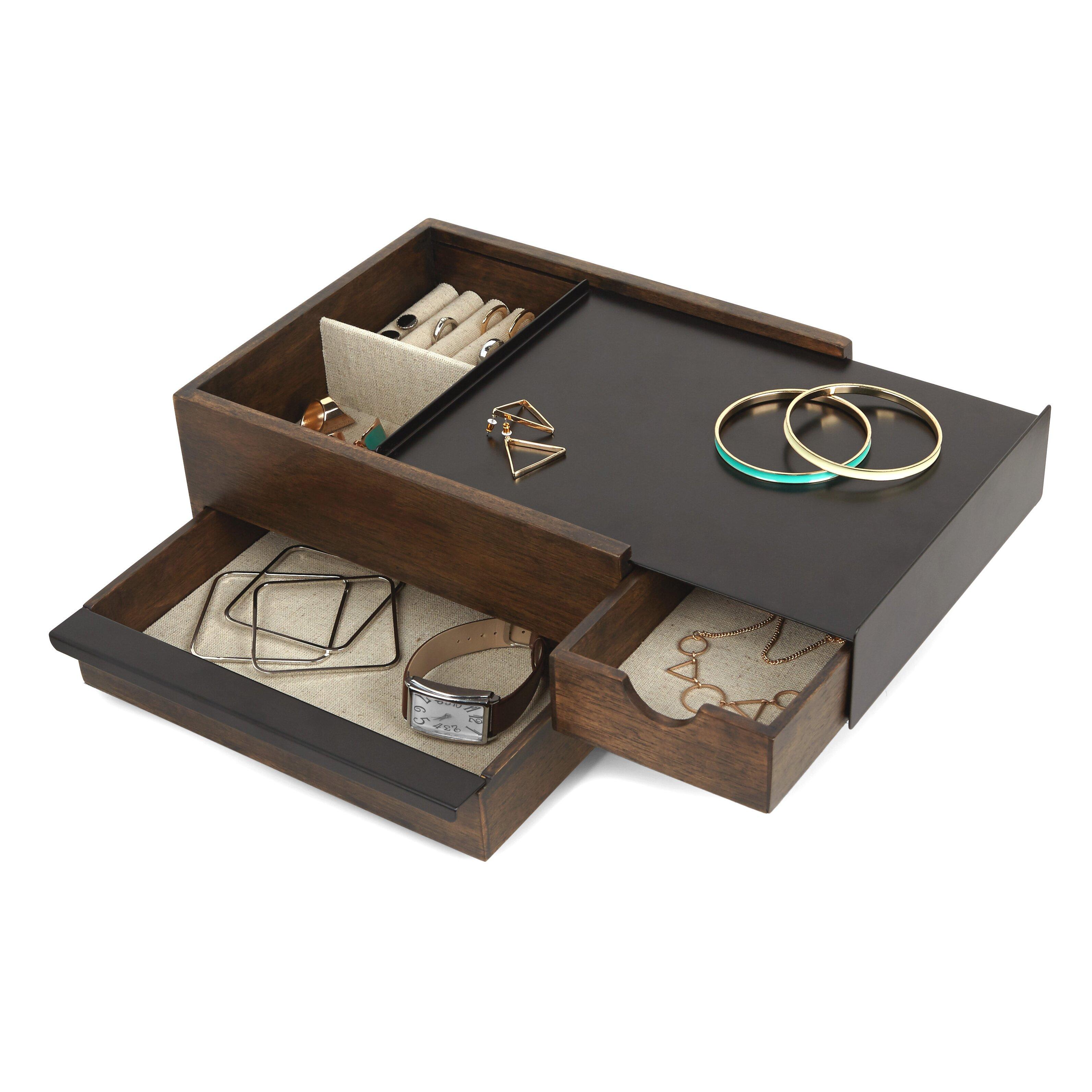 Umbra stowit jewelry box wayfair for Terrace jewelry organizer by umbra