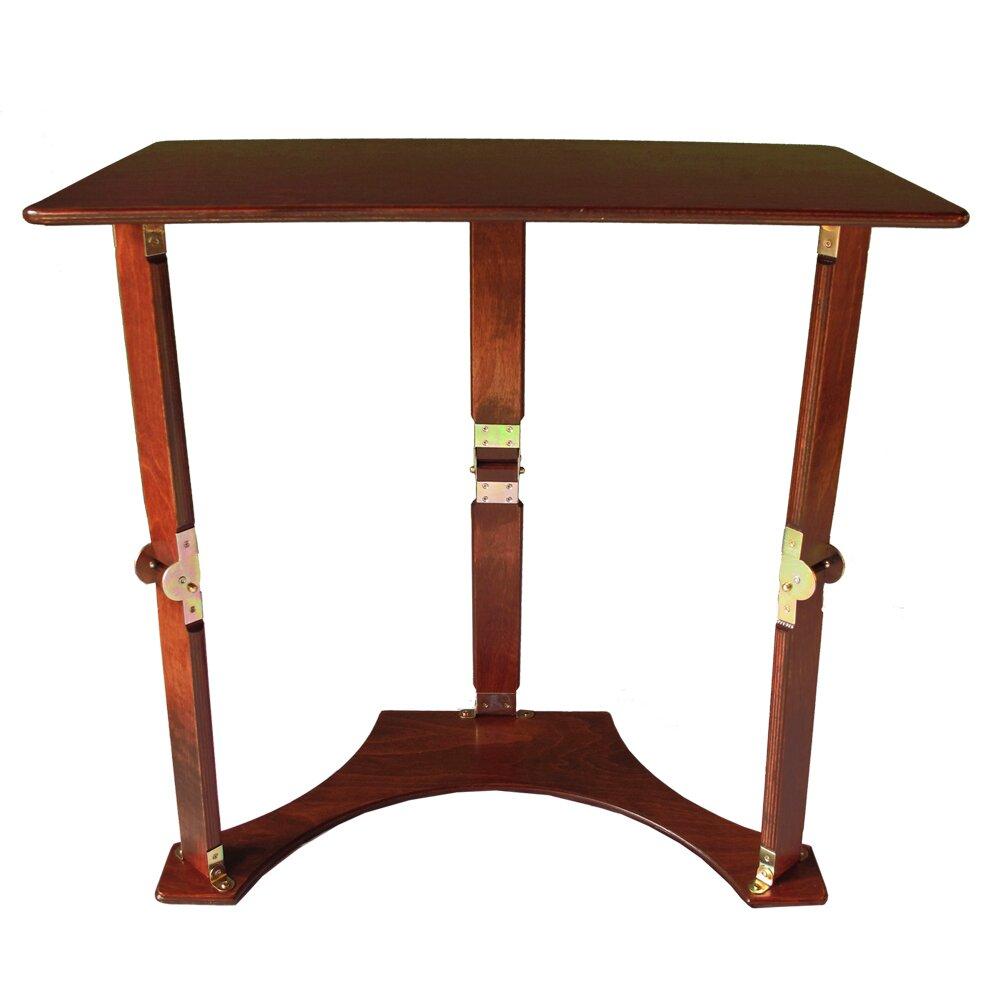 spiderlegs folding laptop desk tray table reviews wayfair. Black Bedroom Furniture Sets. Home Design Ideas