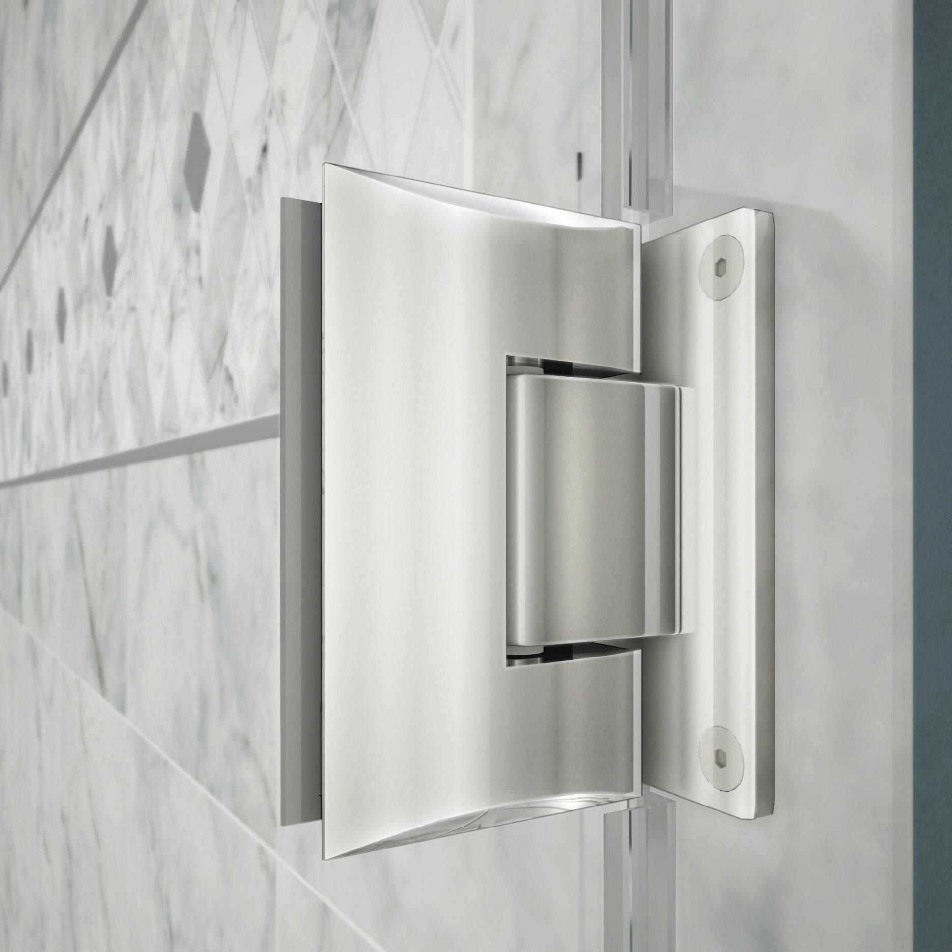 Dreamline Replacement Parts : Dreamline unidoor plus quot hinged shower door